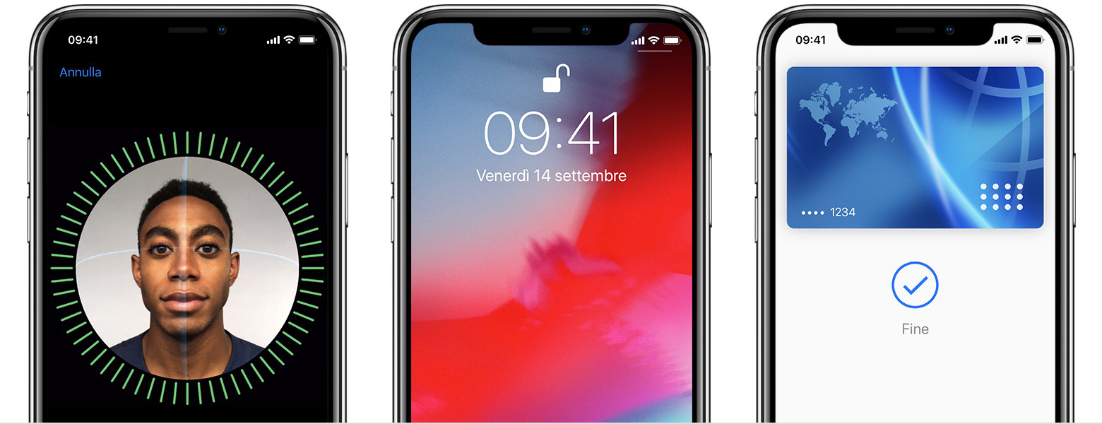 Face ID si aggiorna da capo a piedi per gli iPhone del 2019