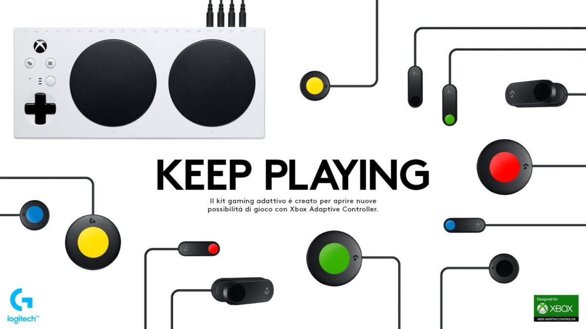 Logitech, perché il nuovo Adaptive Gaming Kit è un grande passo in avanti